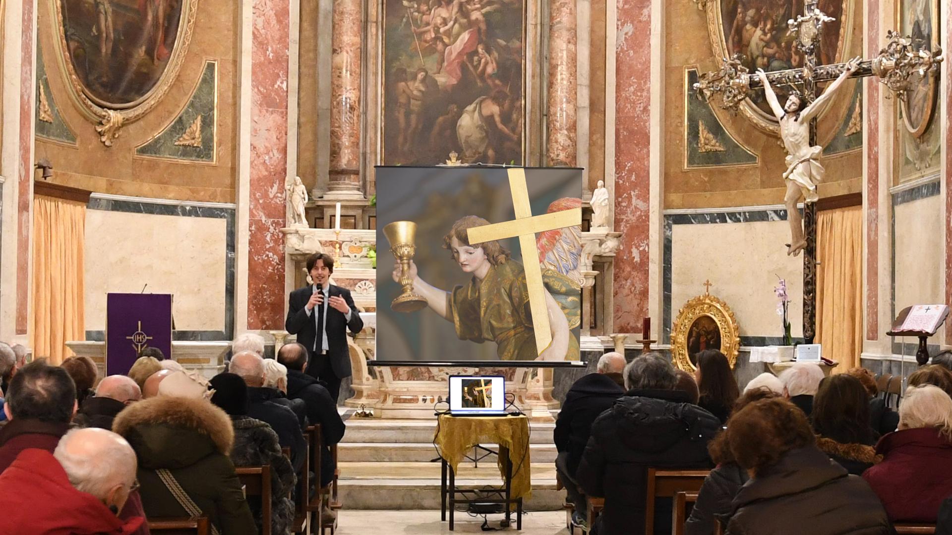 Presentato il restauro della Cassa l'Orazione nell'orto.